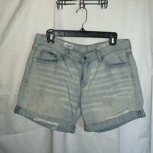 GAP denim sexy boyfriend shorts